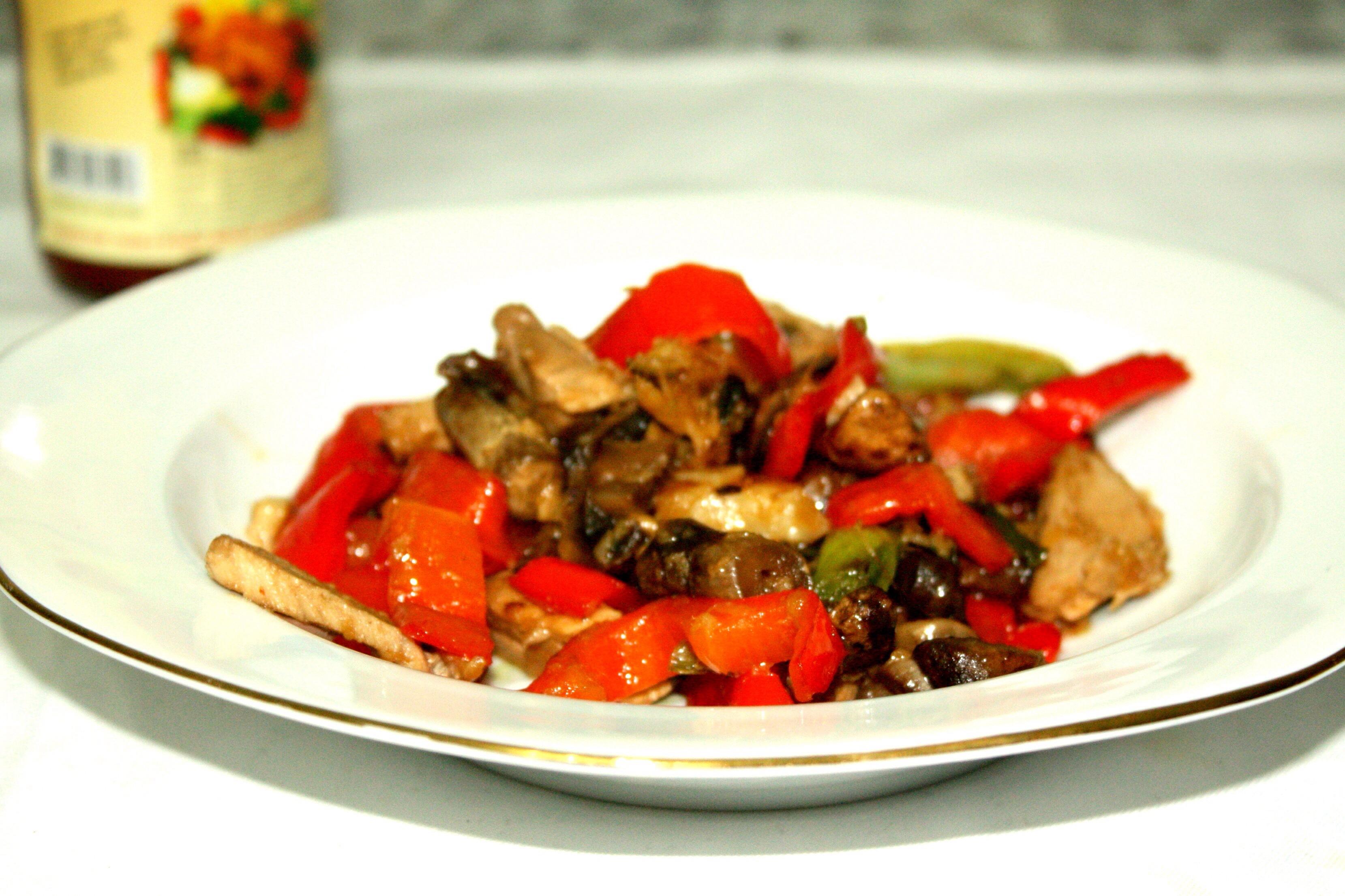 legume stir-fry