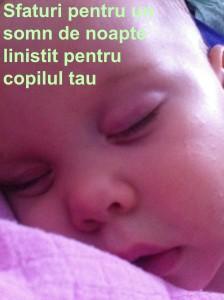 Somn linistit pentru copii